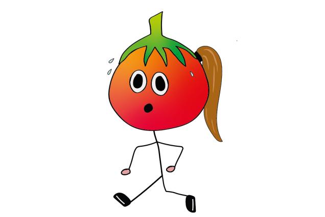 tomato running